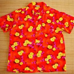 Made in Hawaii Soft Bark Cloth Shirt
