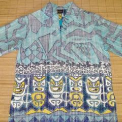 Hawaiian Holiday Reverse Print Shirt