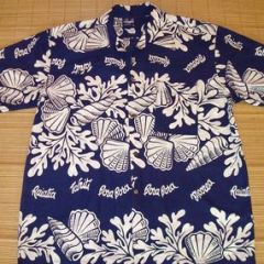 Hawaii Tahiti Bora Bora Seashells Shirt