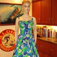 Full Circle Swing Dance Rockabilly Dress