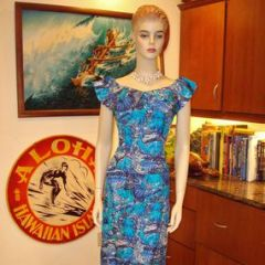 Liberty House Tropical Island Life Long Hawaiian Dress