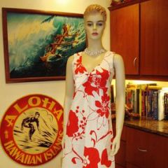 Waltah Clarke's Mod Floral Long Dress