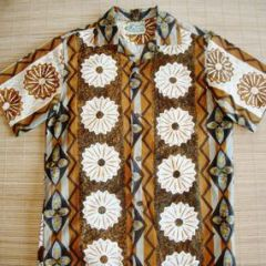 Island Casuals Tapa Pineapple Shirt