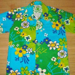 Paradise Hawaii Mod Floral Shirt