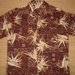 Lanier Bird of Paradise Floral Shirt