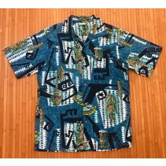 Hawaiian Sands Tiki Man Shirt