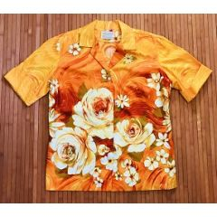 Hawaiian Casuals Floral Sunset Women's Shirt