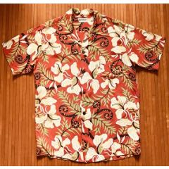 Watumull's Hawaiian Floral and Fern Aloha Shirt