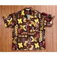 Made in Hawaii Kahili Kollaboration Vintage Aloha Shirt