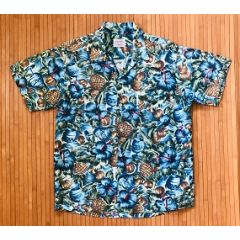 Aloha Shirts Cuckoo for Coconuts Vintage Hawaiian Shirt
