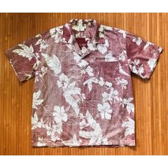 Made in Hawaii Reverse Print Hawaiian Floral Shirt