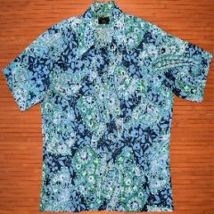 Towncraft Hippie Flower Power Aloha Shirt