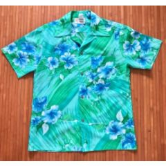 Royal Hawaiian Hibiscus Brushstroke Explosion Shirt
