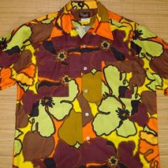 Sears Wild Child Trippy Hawaiian Shirt
