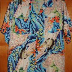 Pigeon Japan Koi Rayon Shirt