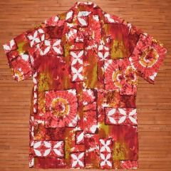 California Groovy Tie Dye Floral Shirt
