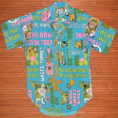 Pomare Tahiti Local Phrases Vintage Pullover Shirt
