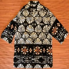 Reef Long Sleeve Tribal Seashell Pullover Dashiki Shirt