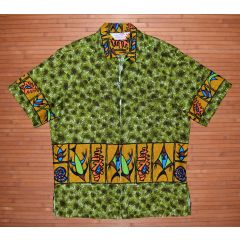Sears Hawaii Atomic Tiki Vintage Shirt Jacket