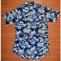 Kilohana Swim Set Cabana 50s Vintage Hawaiian Shirt